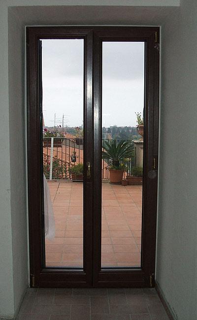 Limoli alluminio mineo ct - Porta finestra legno ...